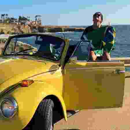 Yamara saiu de San Diego no dia 5 de novembro - Arquivo Pessoal - Arquivo Pessoal