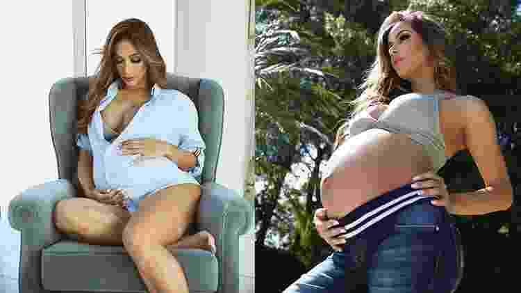 Ex-panicat Babi Muniz está grávida de 35 semanas do primeiro filho, que se chamará Pedro - Rodrigo Torrezan/Divulgação - Rodrigo Torrezan/Divulgação