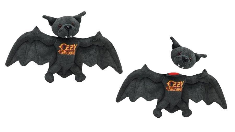 Morcego de Pelúcia celebra 37 anos de show em que Ozzy Osbourne mordeu um de verdade - Divulgação