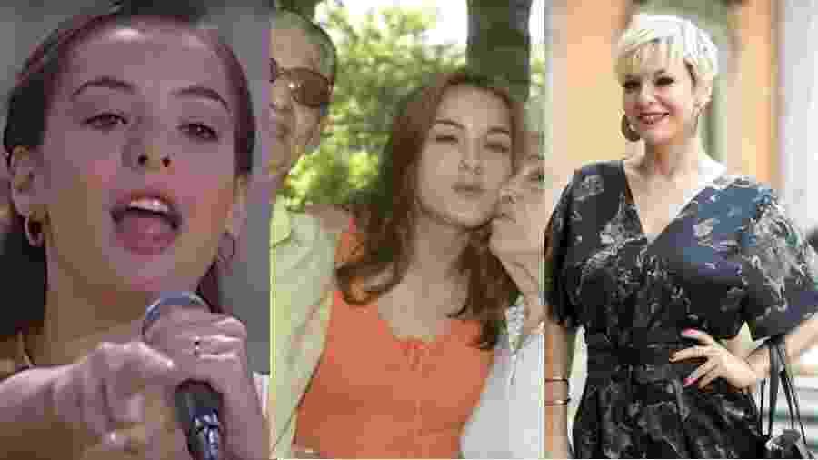 Regiane Alves já interpretou diversas vilãs pérfidas na TV - Reprodução/Viva/Reprodução/twitter/Globo/João Miguel Júnior/Montagem UOL