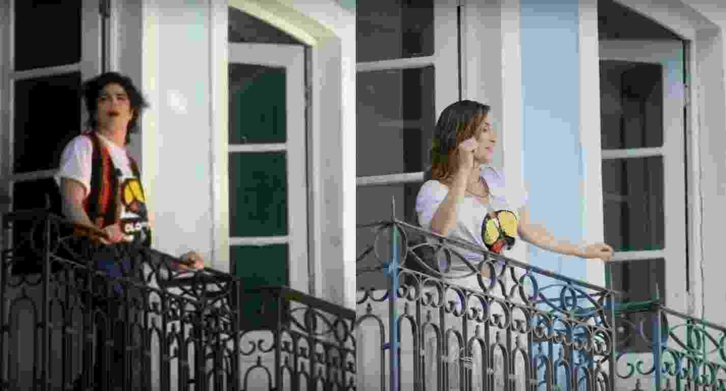 """Claudia Leitte homenageia Michael Jackson em clipe de """"Saudade"""", rodado no Pelourinho, em Salvador - Reprodução/Montagem"""
