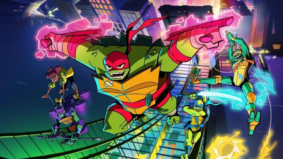 """Cena de """"Rise of the Teenage Mutant Ninja Turtles"""" - Divulgação/IMDb"""
