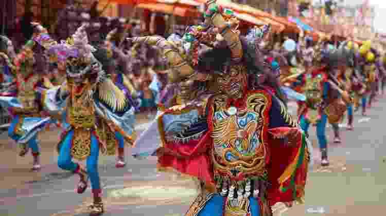 Diablada, festa que acontece no carnaval de Oruro, na Bolívia - iStock - iStock