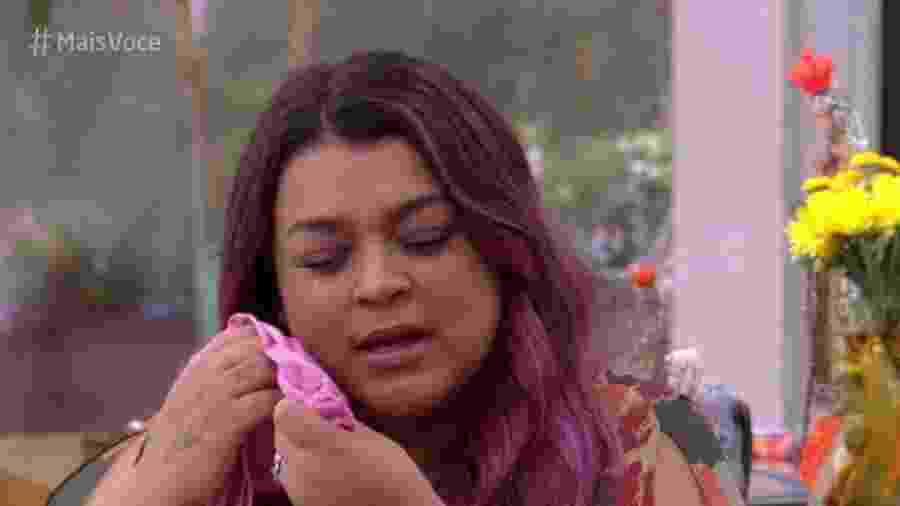 """Preta Gil se emociona no """"Mais Você"""" - Reprodução/Globo"""
