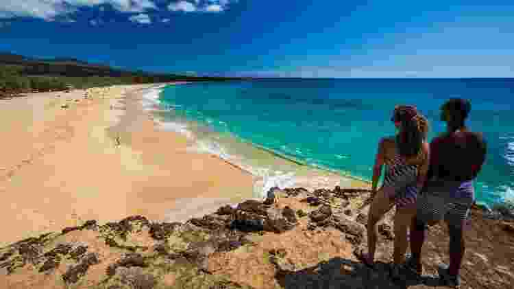 Makena Beach, no Havaí - Hawaii Tourism Authority (HTA) / Tor Johnson - Hawaii Tourism Authority (HTA) / Tor Johnson