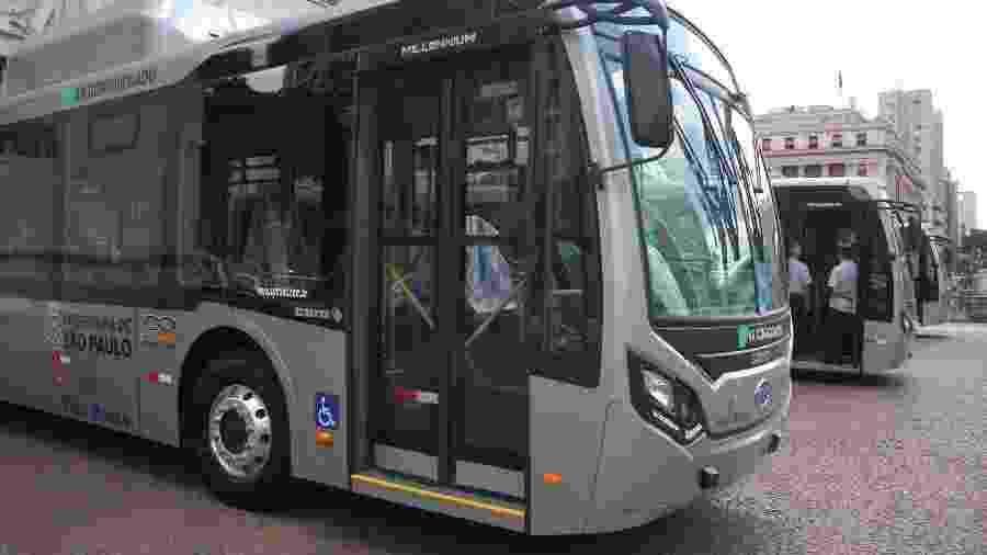 Ônibus elétrico da BYD é testado na cidade de São Paulo - Willian Moreira/Futura Press/Folhapress