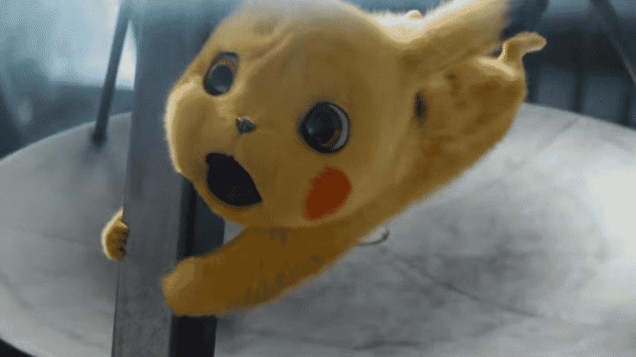 "Cena de ""Pokémon Detetive Pikachu"" - Reprodução"