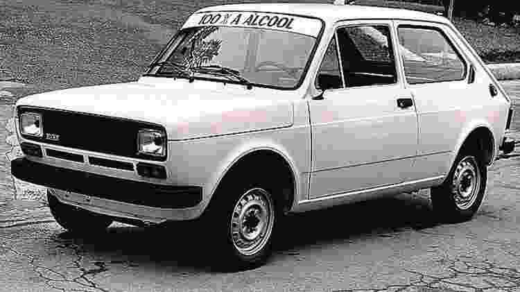 Primeira unidade do 147 a Álcool foi doado ao Ministério da Fazenda, em 1979. O carro acabou retornando à Fiat quase 35 anos depois, sendo então restaurado - Divulgação