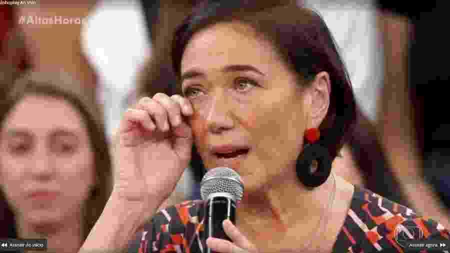 Lilia Cabral se emociona ao falar de filha  - Reprodução/TV Globo