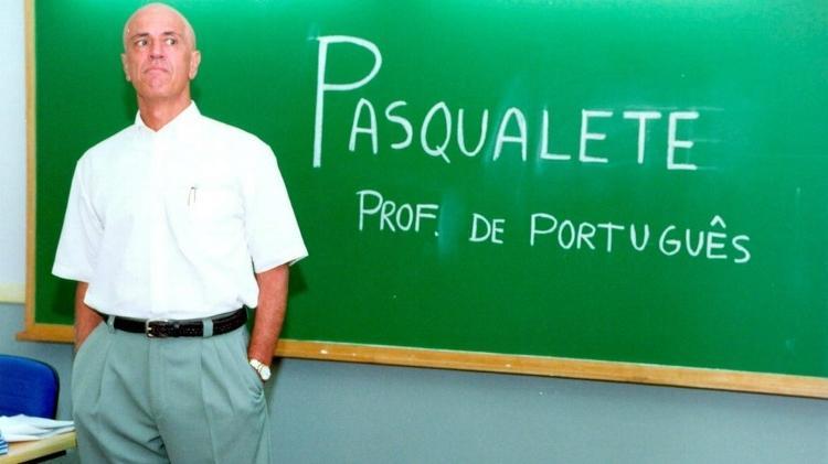 Nuno Leal Maia como o professor Pasqualete de Malhação - Reprodução