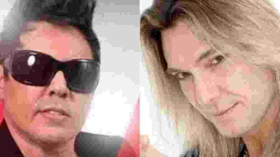 Daniel Diau fará dueto com Edu Falaschi em show em Recife - Montagem UOL