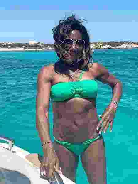 Gloria Maria relembra férias na Itália - REPRODUÇÃO/INSTAGRAM