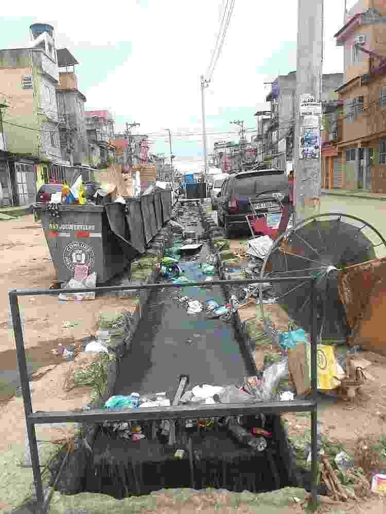 A crítica situação sanitária do Salsa e Merengue, Complexo da Maré, Rio - Eliane de Andrade - Eliane de Andrade