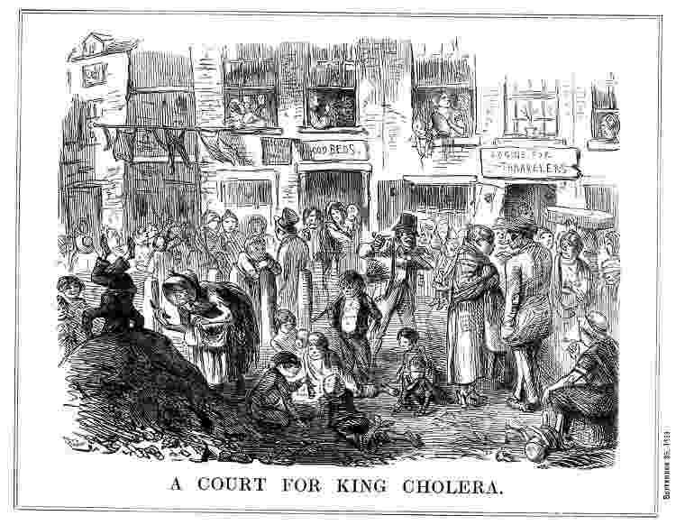 Cólera ilustração séc. 19 - Getty Images - Getty Images