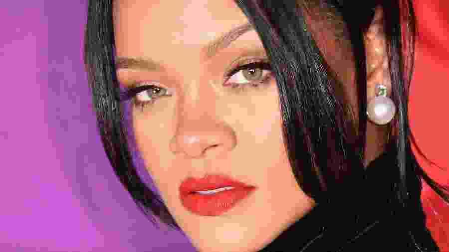 12.09.2019 - Rihanna, fundadora da Fenty Beauty, chega ao 5th Annual Diamond Ball, em Nova York (EUA) - ANGELA WEISS/AFP