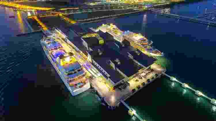 Embarcações da Genting Cruise Lines e Royal Caribbean levarão turistas para... lugar nenhum - Charles Loh - Charles Loh