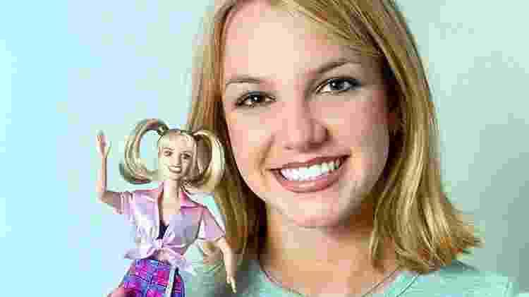 Britney Spears quando estourou como sucesso comercial em 1999 - Getty Images - Getty Images