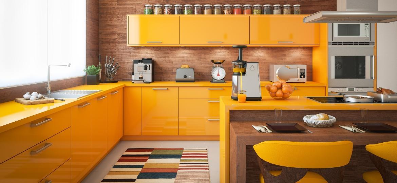 Cozinha pode ser super colorida? Inspire-se nestas ideias - Getty Images