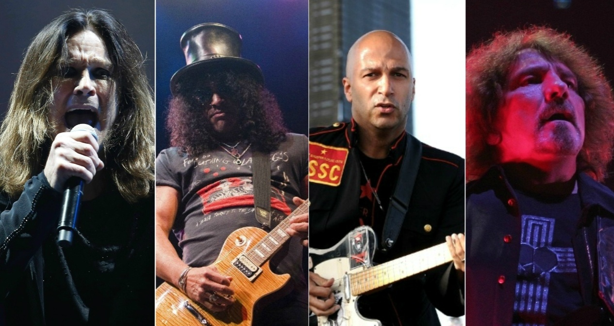 Ozzy Osbourne, Slash, Tom Morello e Geezer Butler formam supergrupo
