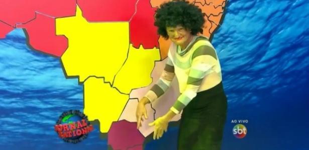 Ratinho cria versão genérica de Maju, da Globo, em seu programa no SBT