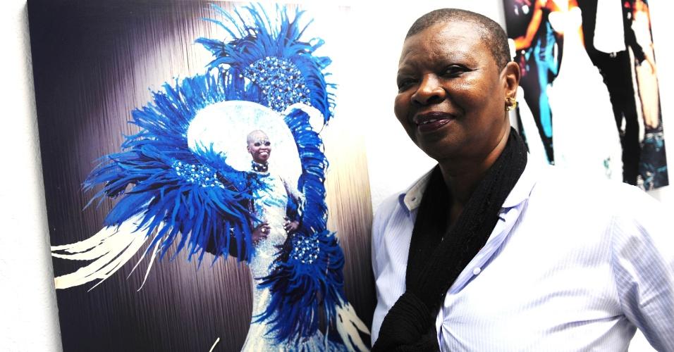A passista que fez história na Beija-Flor será lembrada este ano no desfile da Acadêmicos do Tatuapé