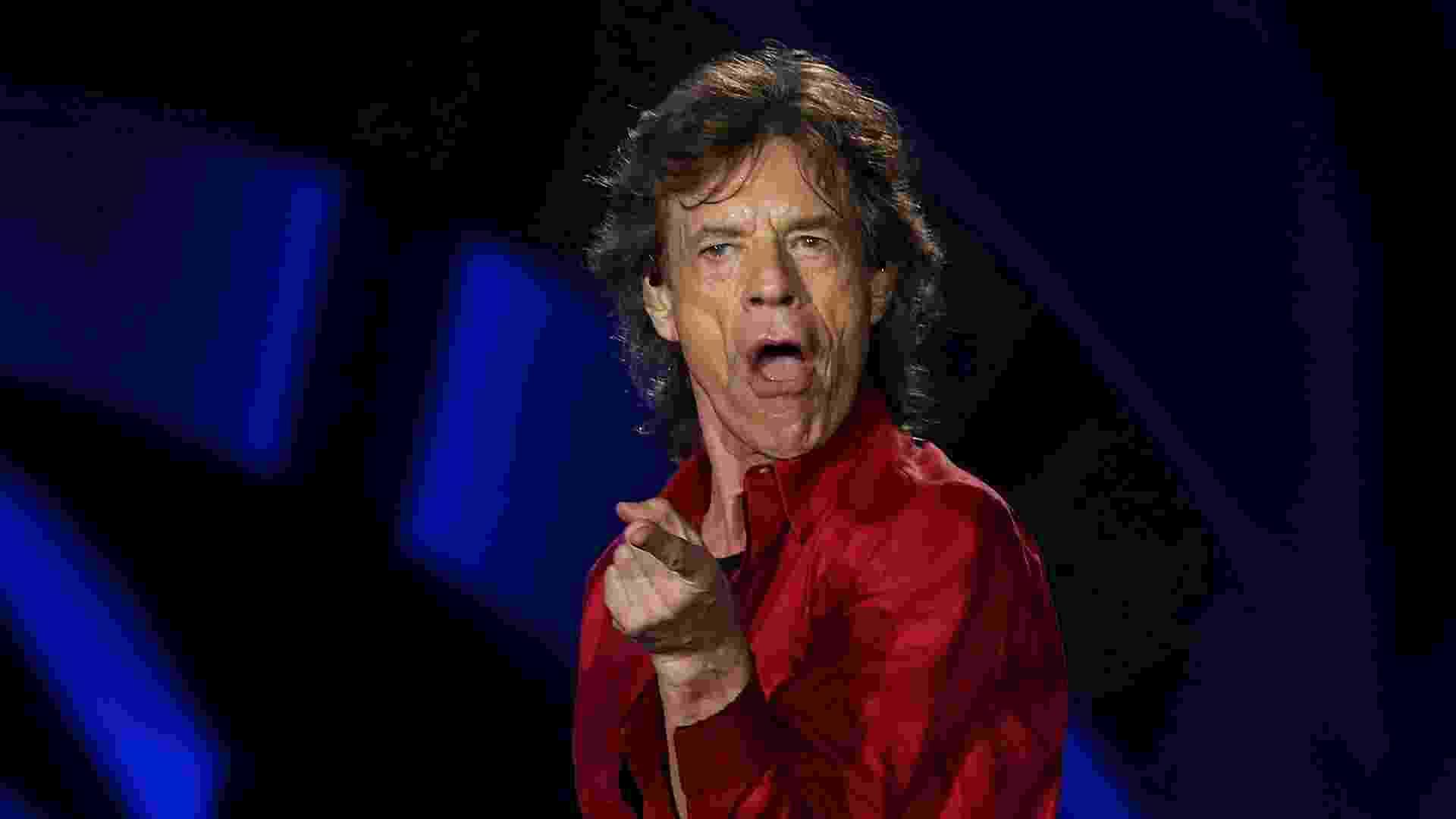 20.fev.2016 - Rolling Stones se apresenta no Rio de Janeiro na noite deste sábado - Júlio César Guimarães/UOL