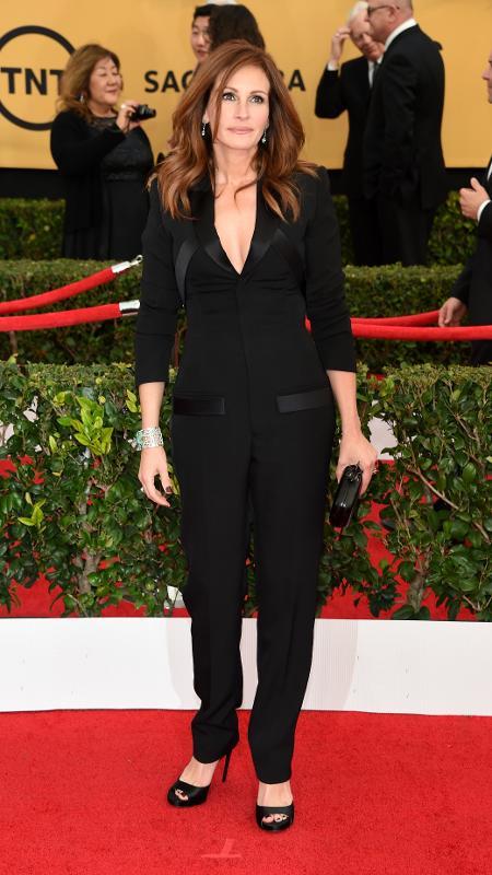 Julia Roberts vai ser protagonista da adaptação de um romance de Maria Semple - Getty Images