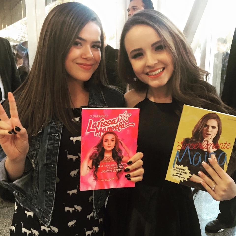 Exclusivo  Globo vai fazer propostas para Maisa Silva e Larissa Manoela -  08 10 2018 - UOL TV e Famosos f7cc3a0ade