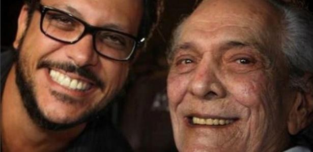 Lúcio Mauro Filho e o pai Lúcio Mauro - Reprodução/Instagram/Lúcio Mauro Filho
