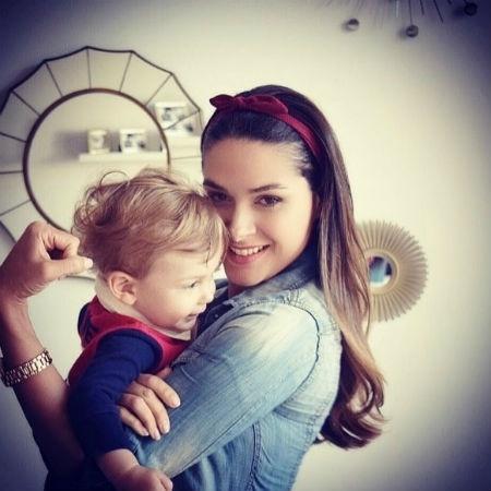 Fernanda Machado com o filho, Lucca - Reprodução/Instagram/realfemachado