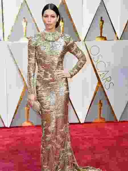 Jessica Biel no Oscar 2017 - Getty Images