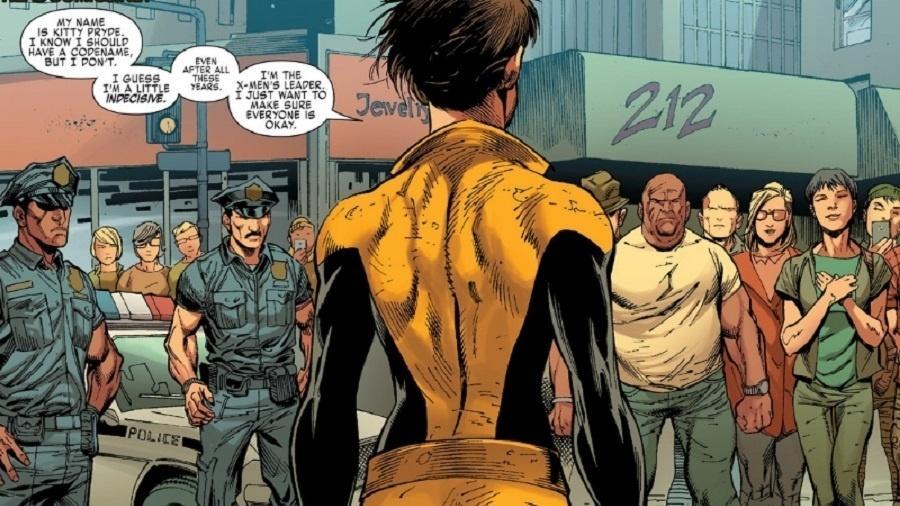 Cena da nova HQ dos X-Men traz a inscrição 212, referência a protestos políticos na Indonésia - Reprodução