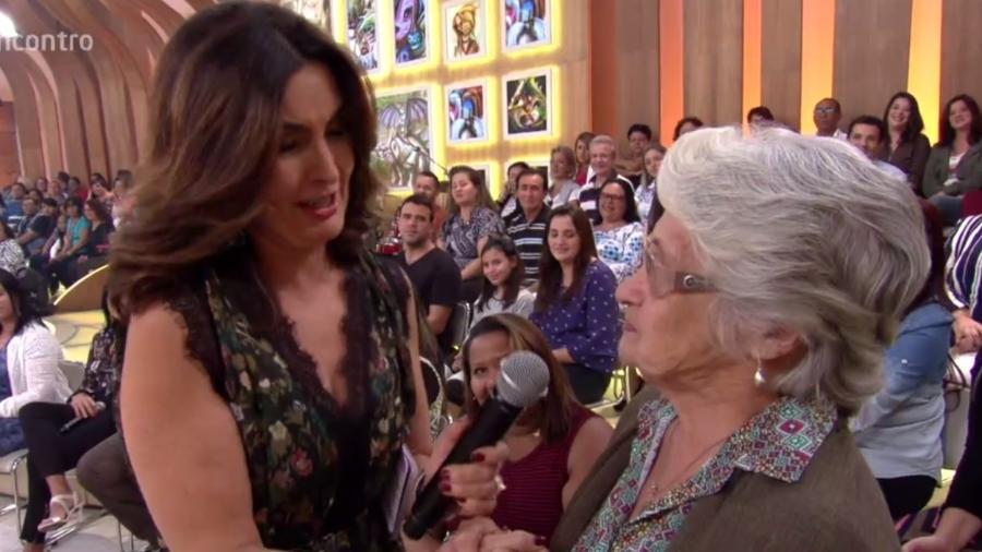 """Fátima Bernardes se emociona com carta de amor no """"Encontro"""" - Reprodução/TV Globo"""