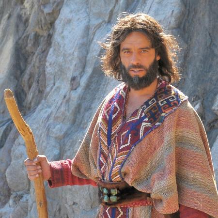 Guilherme Winter como Moisés em Os Dez Mandamentos, produção da Casablanca - Munir Chatack/Divulgação/Record TV