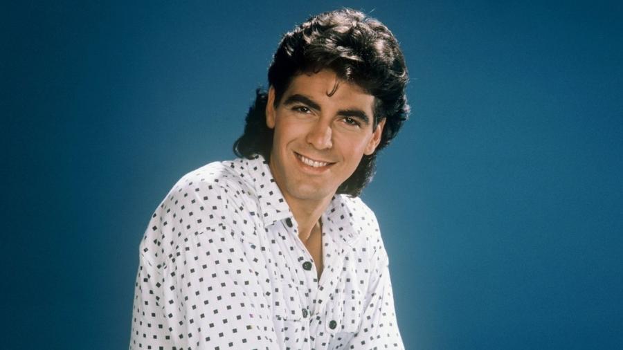George Clooney nos anos 80 - Reprodução
