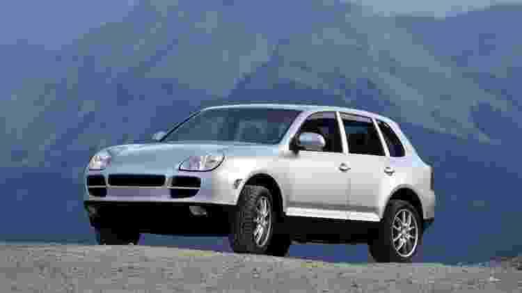 Porsche Cayenne 2003 - Divulgação - Divulgação