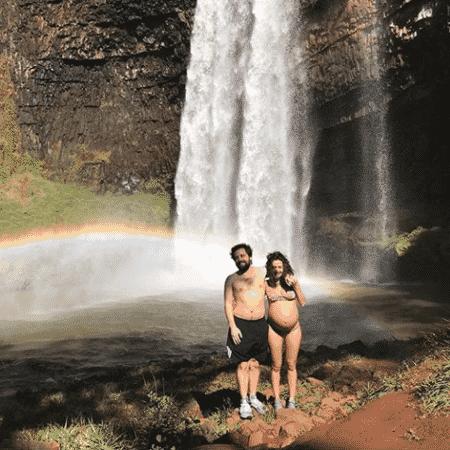 Gregório Duvivier e Giovanna Nader - Reprodução/Instagram/gduvivier