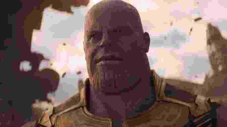 """O vilão Thanos aparece no trailer de """"Vingadores: Guerra Infinita"""" - Divulgação"""