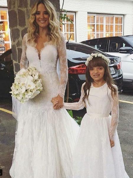 Ticiane Pinheiro ao lado da filha, Rafaela Justus - Reprodução/Instagram