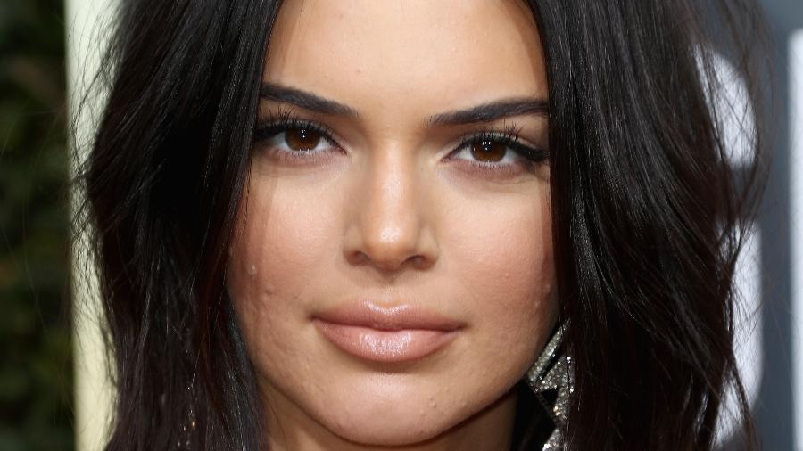 Kendall Jenner no Globo de Ouro neste domingo, dia 7 - Getty Images