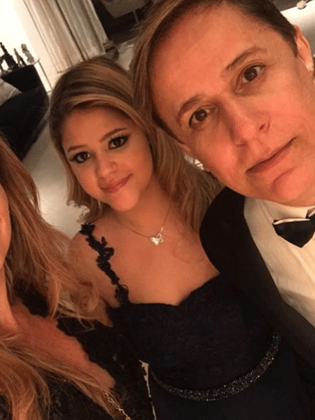 Maria entre os pais, Patricia e Tom Cavalcante - Reprodução/Instagram/tomcavalcante