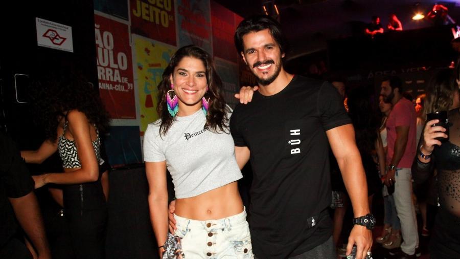 Priscila Fantin e o namorado curtem Carnaval em São Paulo - Marcos Ribas/Brazil News