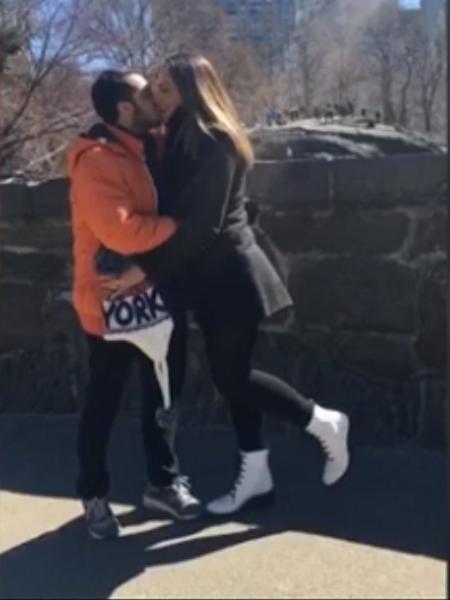Thammy Miranda e mulher curtem lua de mel em Nova York - Reprodução/Multishow.com.br