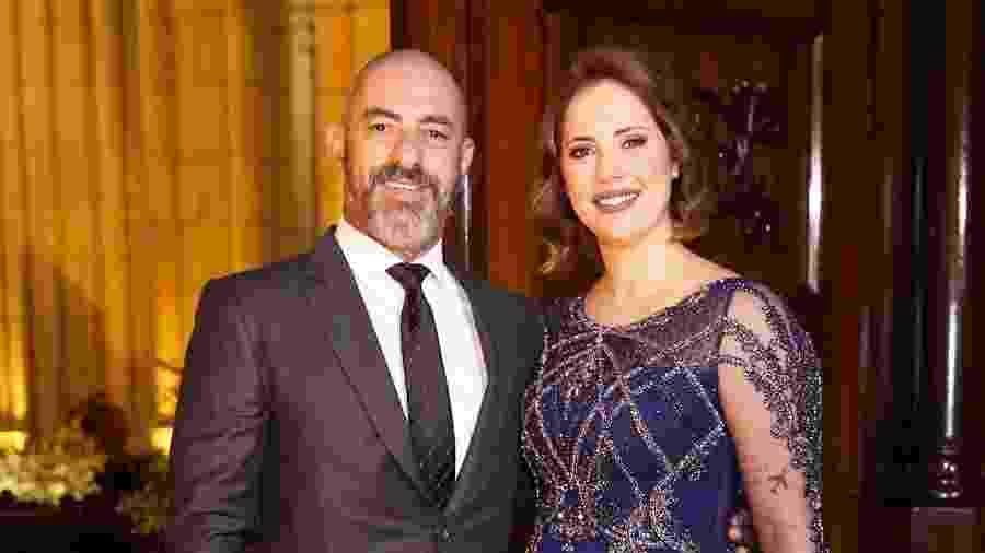 Henrique Fogaça e a mulher, Carine Ludvic - Manuela Scarpa/Brazil News