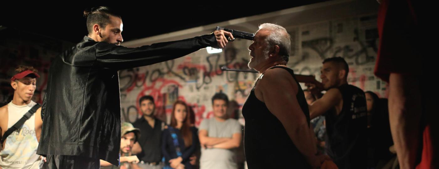 "Atores registram violência na Venezuela na peça ""Pran - Pran - Pran"" - Marco Bello/Reuters"