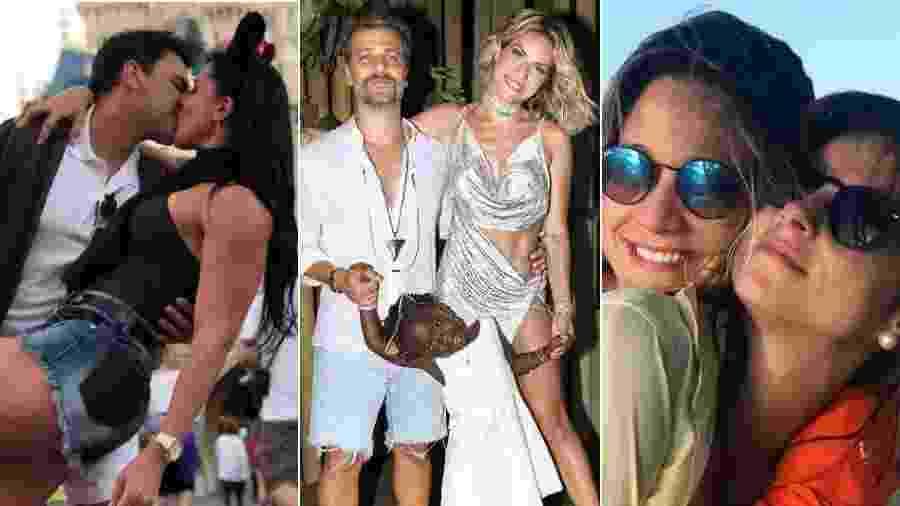 Neste Dia dos Namorados, lembre casais famosos que superaram obstáculos e ficaram ainda mais unidos - Fotomontagem/Reprodução/Instagram