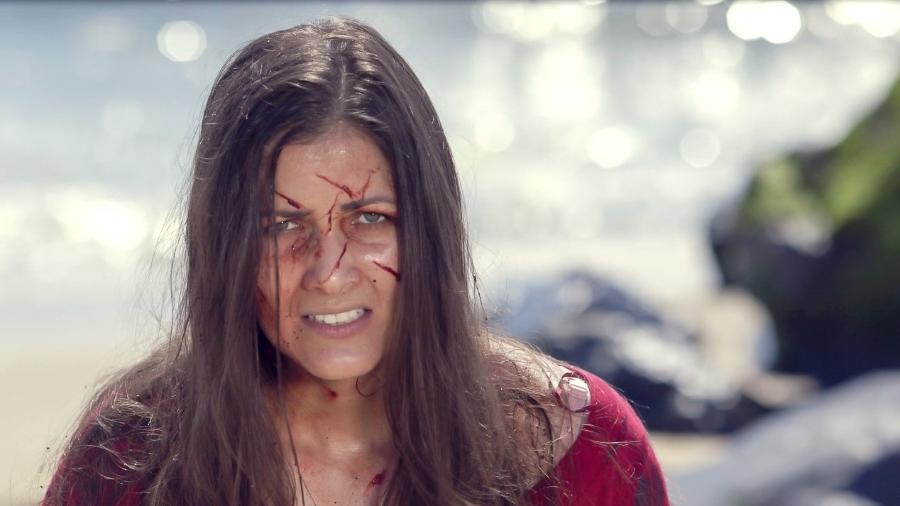 """Nana Gouvea em cena do filme """"Black Wake"""" - Reprodução"""