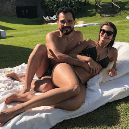 Luciano e Flavia Camargo - Reprodução/Instagram