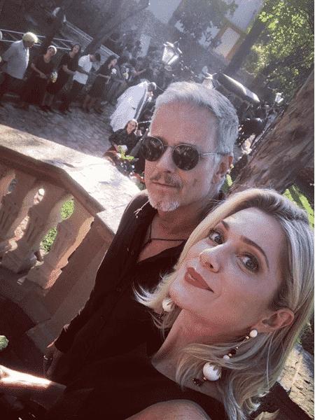 Marcello Novaes e Letícia Spiller - Reprodução/Instagram