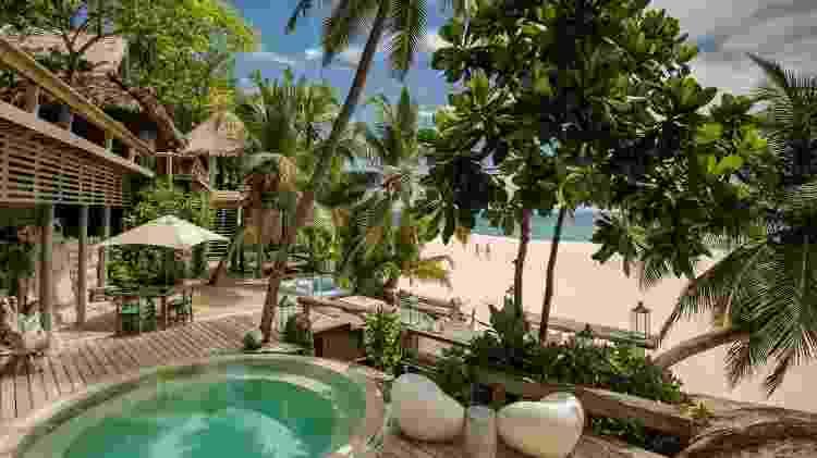 Resort North Island, em Seychelles - Divulgação/North Island - Divulgação/North Island
